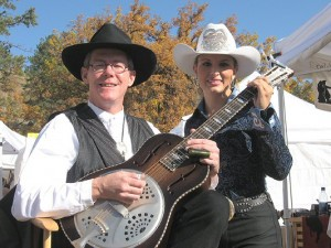 State Rodeo Queen, Sorel and Bill Keitel of the Buffalo Billfold Company