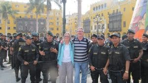 Peruvian Police Officers