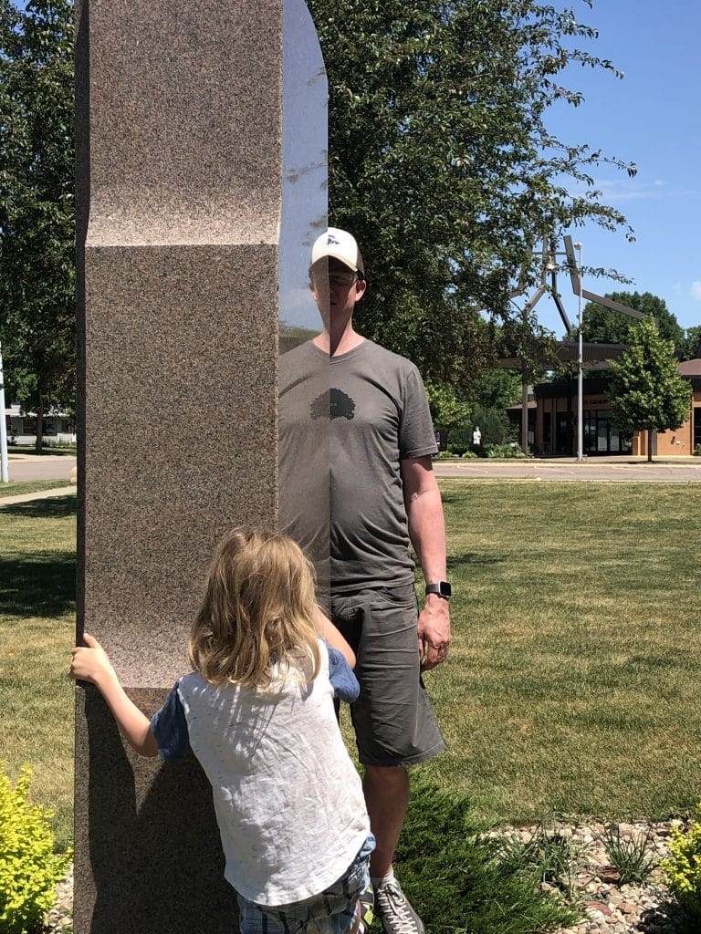 Luverne, MN - Reflection Stone